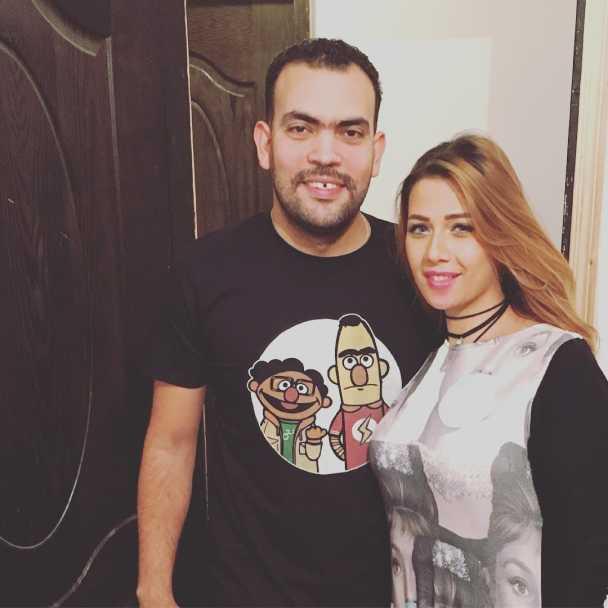 صور خالد عليش وميما شامي على instagram