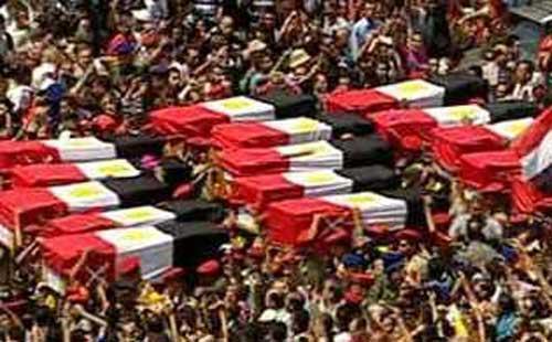 """بلاغ يتهم """"مرسى"""" بإخفاء أسماء المتورطين فى اغتيال شهداء """"رفح"""""""