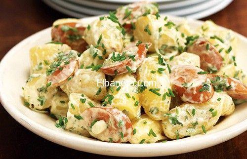 سلطة البطاطس بالصور, وصفة تحضير سلطة البطاطس والكرفس
