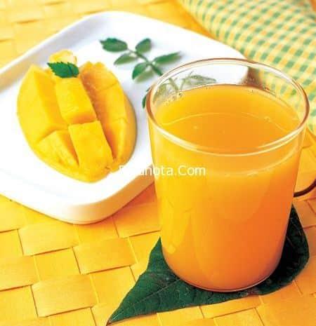 عصير المانجا المثلجة دايت