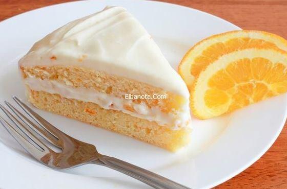 وصفة كيك البرتقال سهلة وسريعة