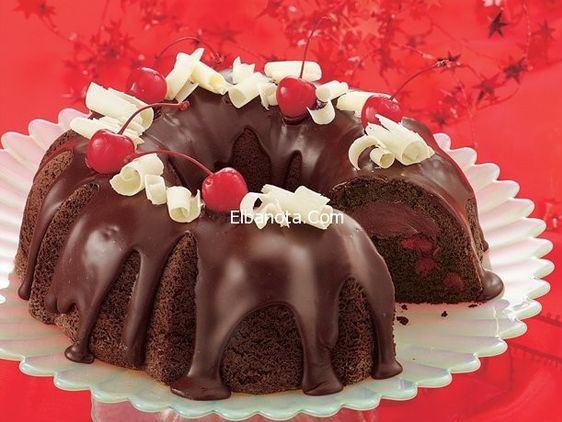 الشوكولاتة سهلة, وصفة الشوكولاتة بالكرز chocolate-cherry-tru
