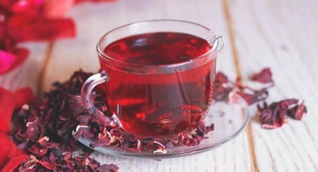 شاي الكركديه للضغط, طريقة عمل شاي الكركديه بالقرفة