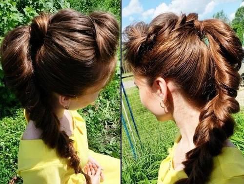 بالصور- أجمل- 5- تسريحات- شعر -ذيل- الحصان