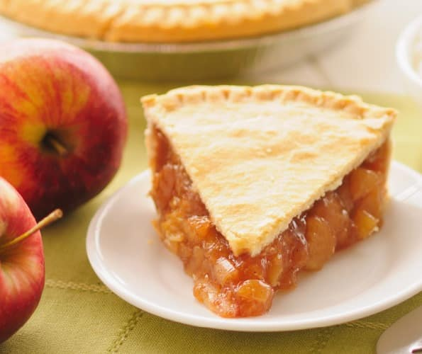 فطيرة التفاح بالقرفة على الطريقة الامريكية