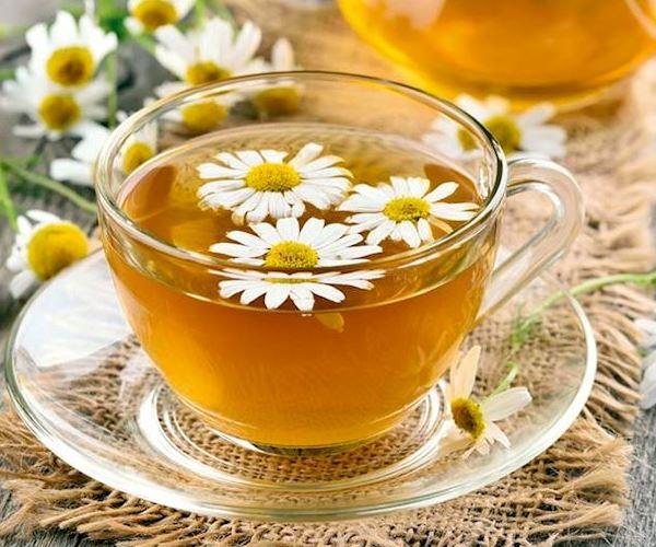 شاي الياسمين المثلج بالنعناع
