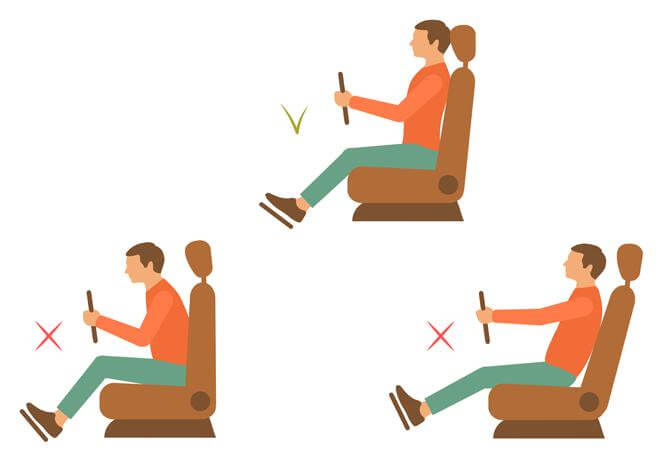 طريقة الجلوس والنوم الصحيحة للعمود الفقرى