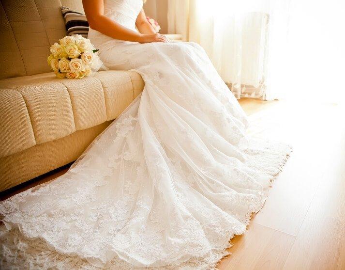 أفضل النصائح لتنظيف وغسل فستان الزفاف