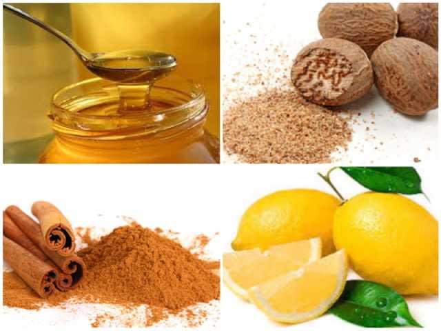 ماسك العسل والقرفة وجوزة الطيب لعلاج حب الشباب وتفتيح البشرة