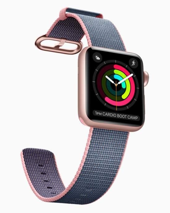 ساعة آبل الذكية Apple Watch Series 2 مقاوم للماء لعمق 50 متراً