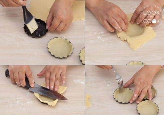 طريقة عمل تارت الشوكولاته سهلة ولذيذة بالصور