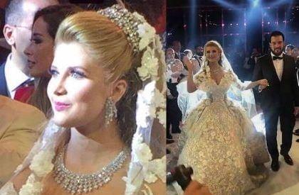 زواج مراد ابن يوسف شعبان من بنت أكبر جواهرجي بلبنان