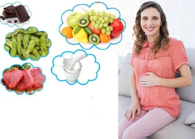 نظام غذائى صحي للحامل في أشهر الحمل الأولى