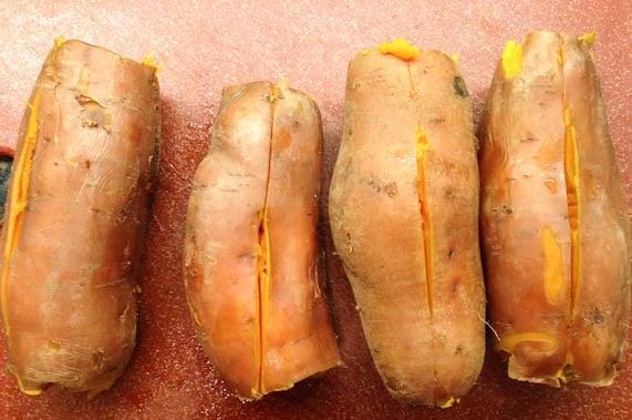 وصفة البطاطا الحلوة المشوية بالطريقة المصرية