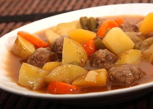 كفتة بالبرغل والبطاطس Sulu köfte من المطبخ التركي