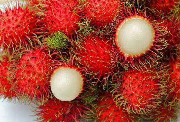 فاكهة رامبوتان فوائدها للرجال والبشرة وفقر الدم