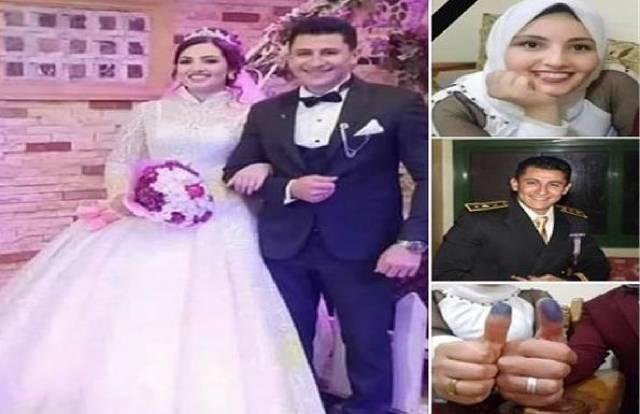 تفاصبل وفاة عروسين الدقهلية بعد زواجهم بساعات