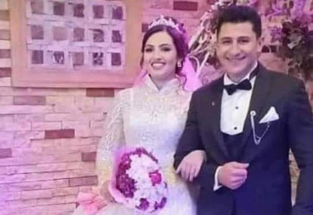 تفاصبل وفاة عروسين الدقهلية