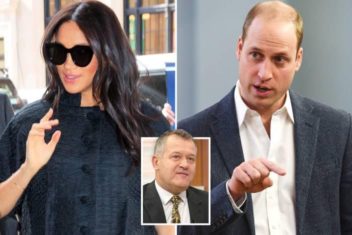 ميغان ماركل تغضب الأمير ويليام في حفل استقبال طفلها