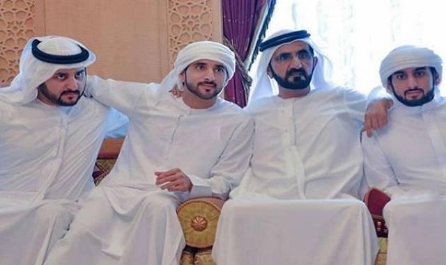 دبي تحتفل بعقد قران 3 من أبناء الشيخ محمد بن راشد آل مكتوم